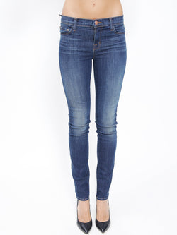 J BRAND-Jeans Close Cut Skinny Leg Navy-TRYME Shop