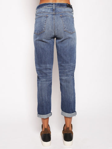 J brand J BRAND - SADEY SLIM STRAIGHT - Old rose NAVY Trymeshop.it