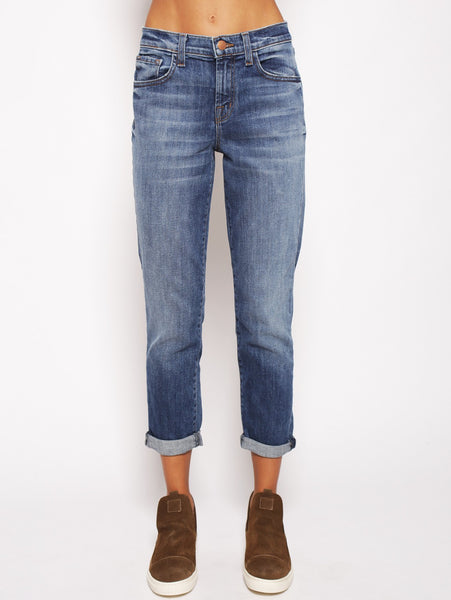 J brand J BRAND - SADEY SLIM STRAIGHT - Old rose NAVY Jeans - TRYMEShop