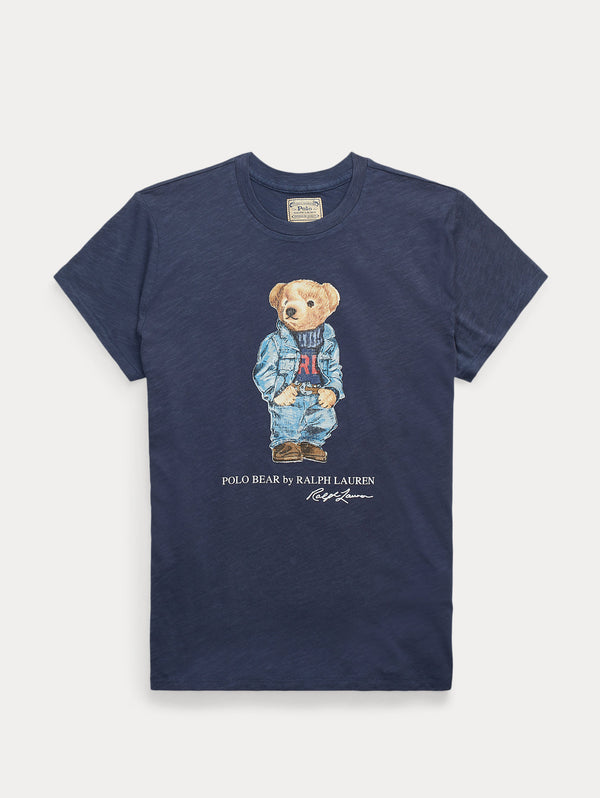 RALPH LAUREN-T-shirt Polo Bear Classic Royal-TRYME Shop