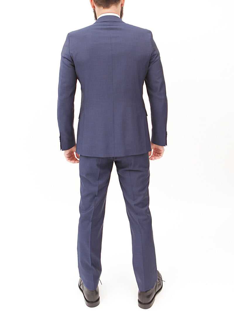 MANUEL RITZ - Abito in lana fit slim NAVY-Completi-Manuel Ritz-TRYME Shop