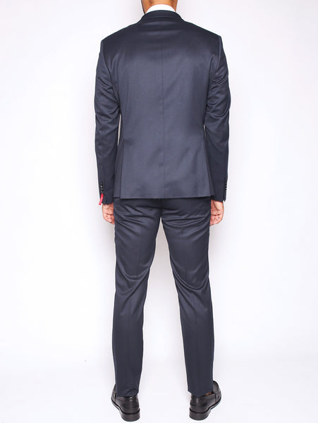 Manuel Ritz MANUEL RITZ - ABITO SLIM FIT IN TECHNO TWILL STRETCH NAVY Trymeshop.it