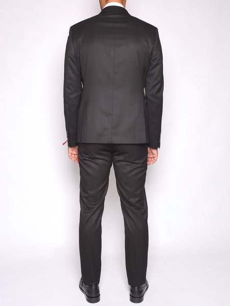 Manuel Ritz MANUEL RITZ - ABITO SLIM FIT IN TECHNO TWILL STRETCH NERO Completi - TRYMEShop