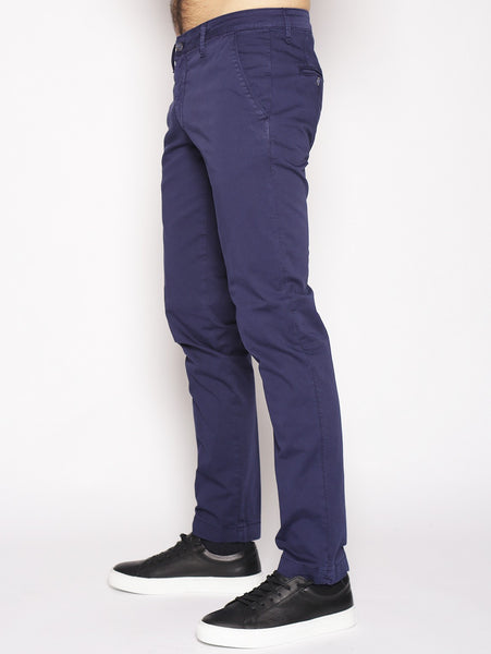Manuel Ritz MANUEL RITZ - Pantaloni chinos slim fit NAVY Trymeshop.it