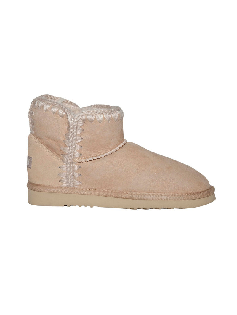 Mou-Stivaletto con Interno in Shearling Avorio-TRYME Shop