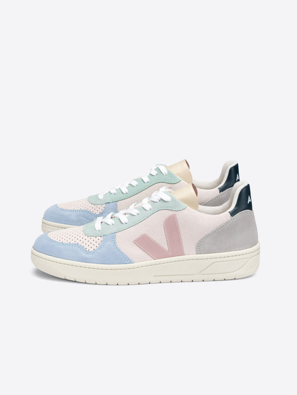 VEJA-Sneakers in Eco Suede da donna Multicolor-TRYME Shop