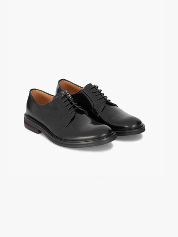Classic Derby with rubber sole - 3810 Black