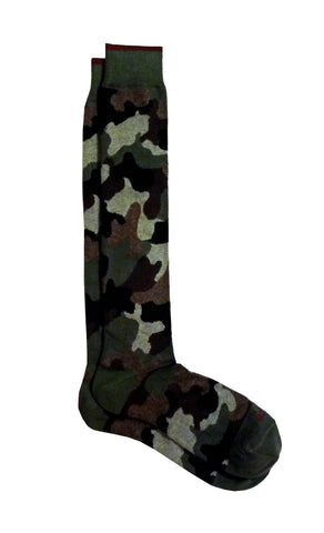 in the box CAMOUFLAGE Calze CAMUFLAGE VERDE MILITARE Calze - TRYMEShop