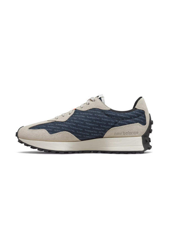 Sneakers Retrò 327 Blu/Beige