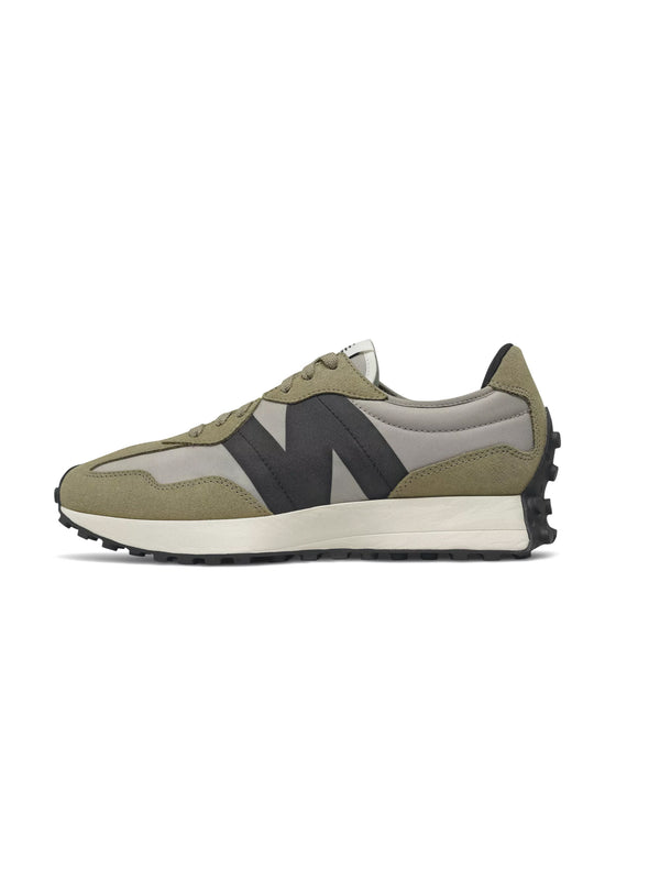 NEW BALANCE-Sneakers Retrò 327 Grigio/Verde-TRYME Shop