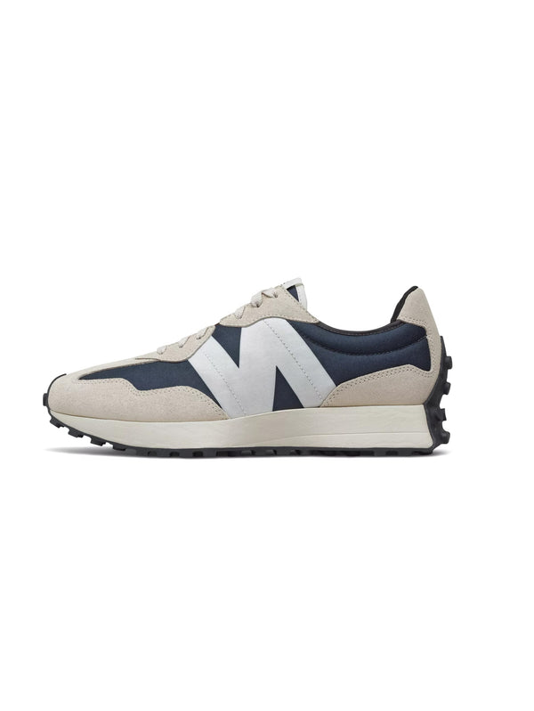 NEW BALANCE-Sneakers Retrò 327 Blu/Beige-TRYME Shop