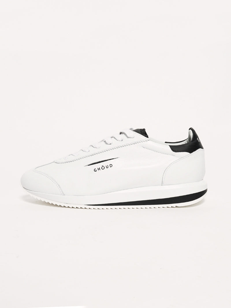 GHOUD-Sneaker 45MM Bianco/Nero-TRYME Shop