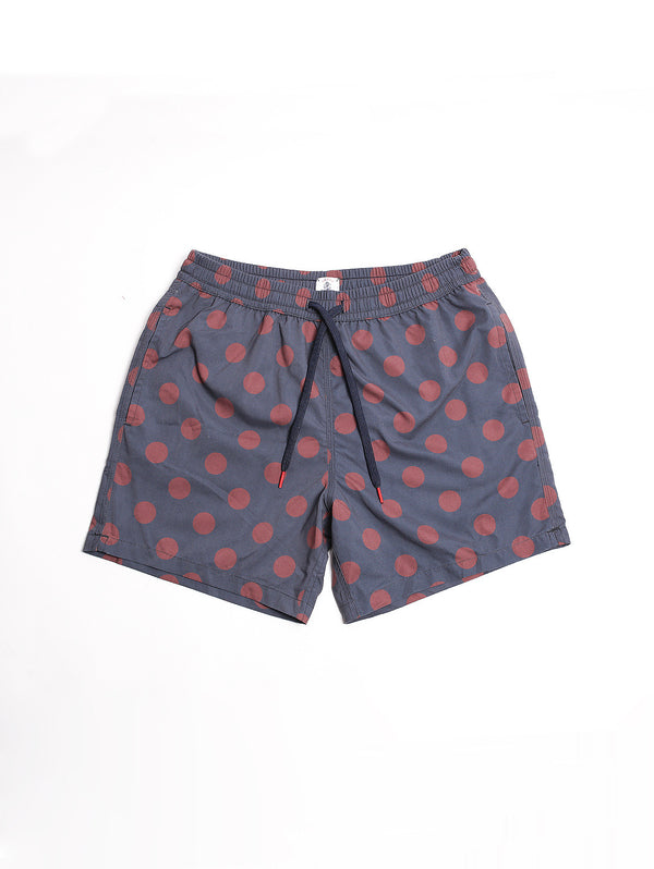 IN THE BOX-BOXER POIS Blue Navy/Burgundy-TRYME Shop