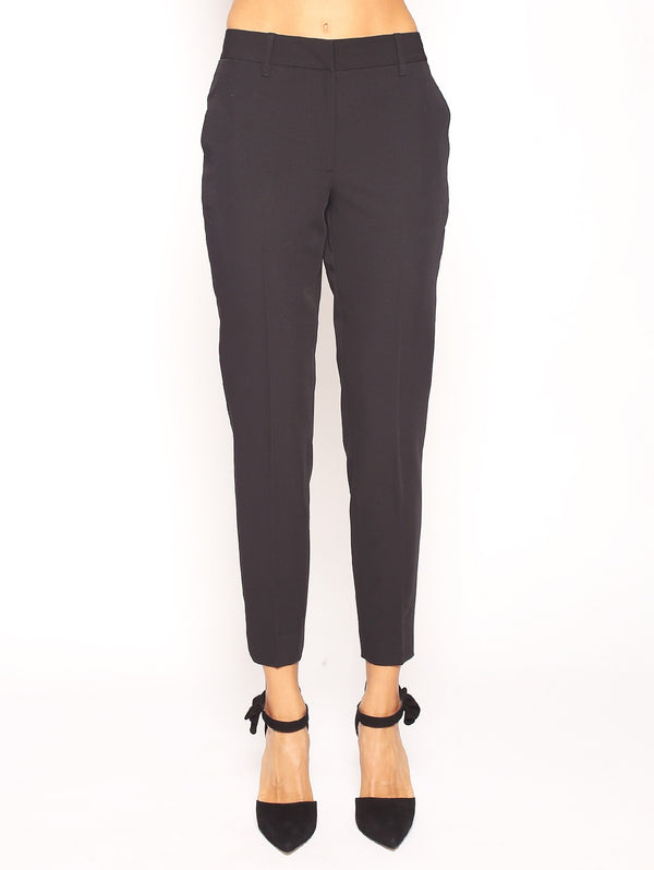 TWIN SET-Pantalone a Sigaretta-TRYME Shop