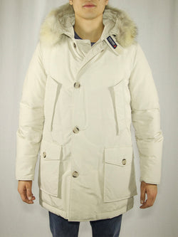 WOOLRICH-Parka Arctic in Ramar DF AVORIO-TRYME Shop