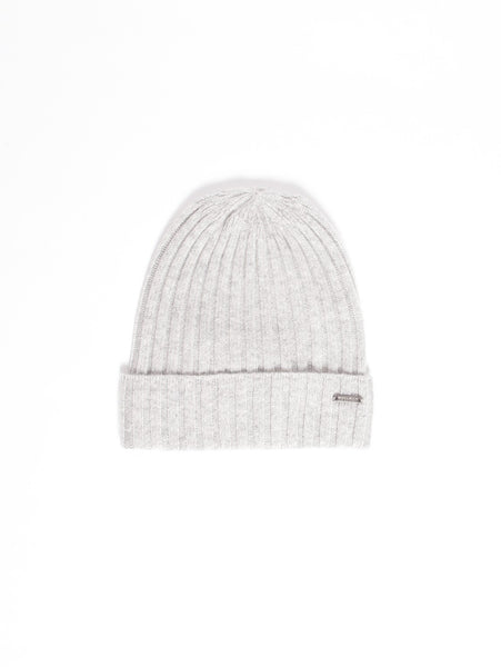 Woolrich WOOLRICH - CASHMERE HAT ARGENTO Cappelli - TRYMEShop