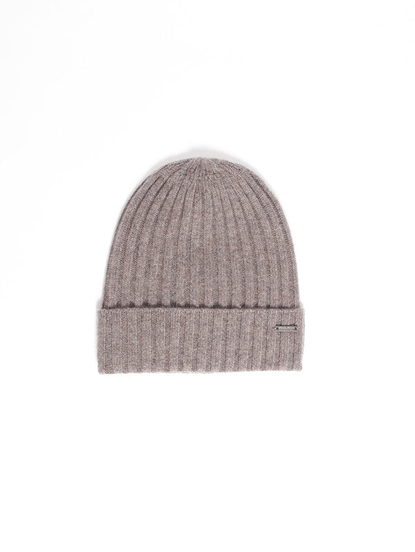 WOOLRICH-Cappello in Cashmere Marrone-TRYME Shop