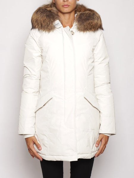 W'S LUXURY ARCTIC PARKA WHITE IGLOO WOOLRICH TRYMEShop