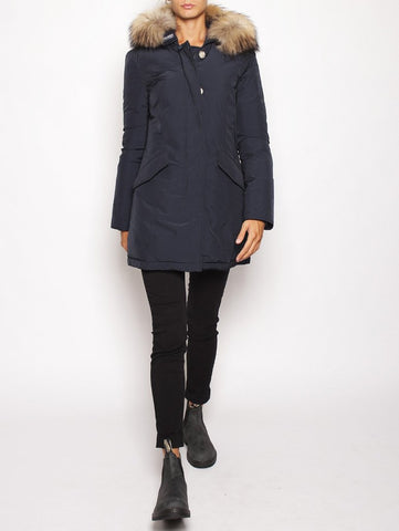 WOOLRICH W'S LUXURY ARCTIC PARKA MIDNIGHT BLUE Trymeshop.it