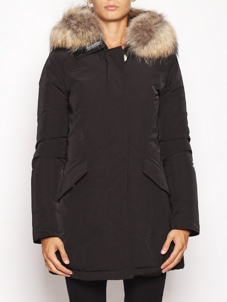 W'S LUXURY ARCTIC PARKA NERO WOOLRICH TRYMEShop