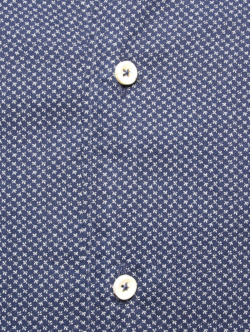 XACUS - Camicia in Mussola fantasia - Mod. 767 NAVY-Camicie-Xacus-TRYME Shop