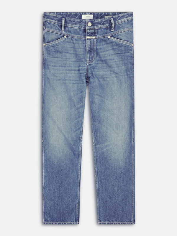 CLOSED-Jeans Relaxed Fit Mid Blue-TRYME Shop