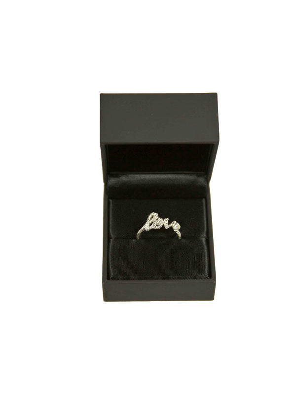 ZOE & Morgan-Zoe & Morgan - LOVE RINGS ARGENTO-TRYME Shop