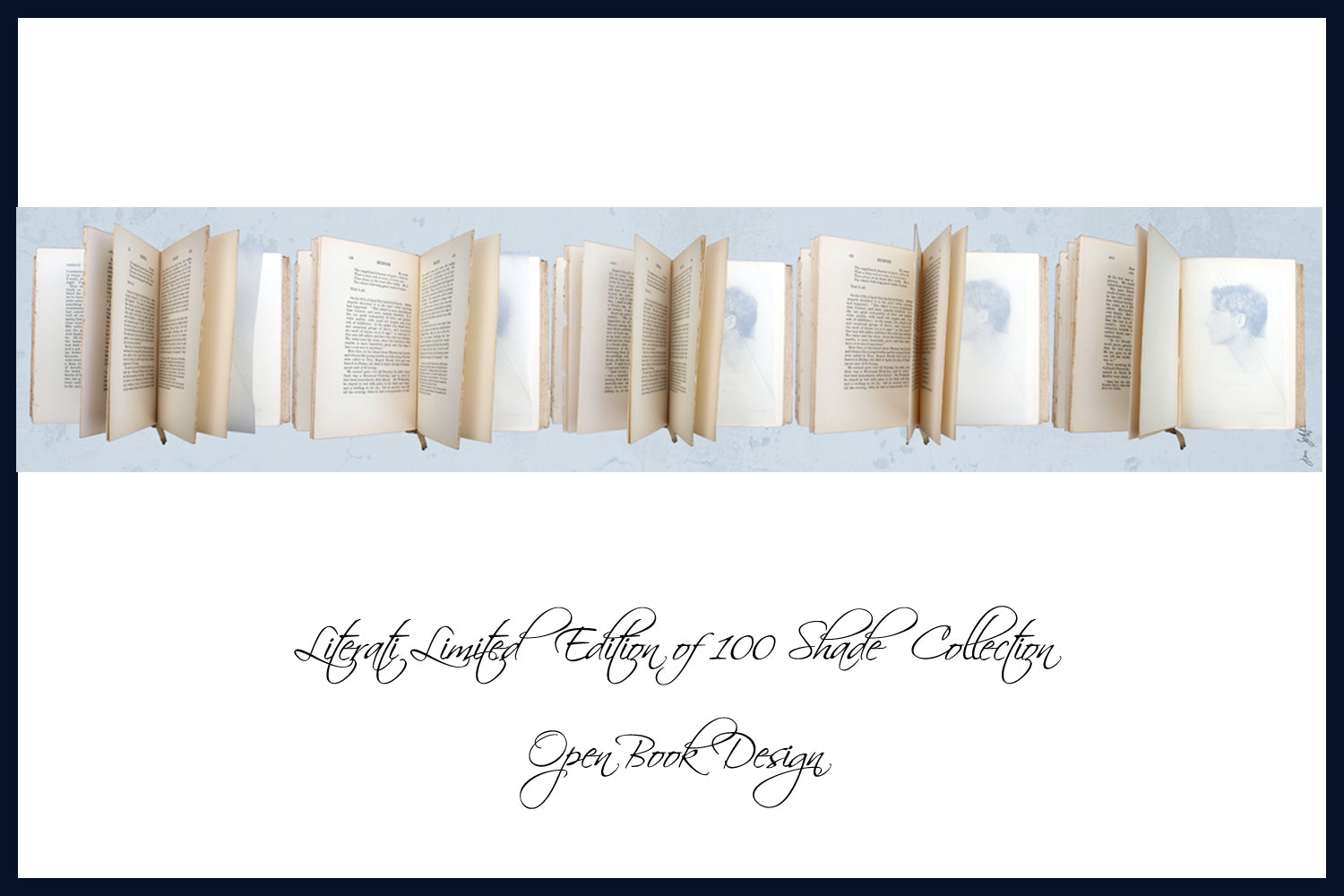 Open Book - Limited Edition Lampshades Featuring Poet Rupert Brooke's Memoir