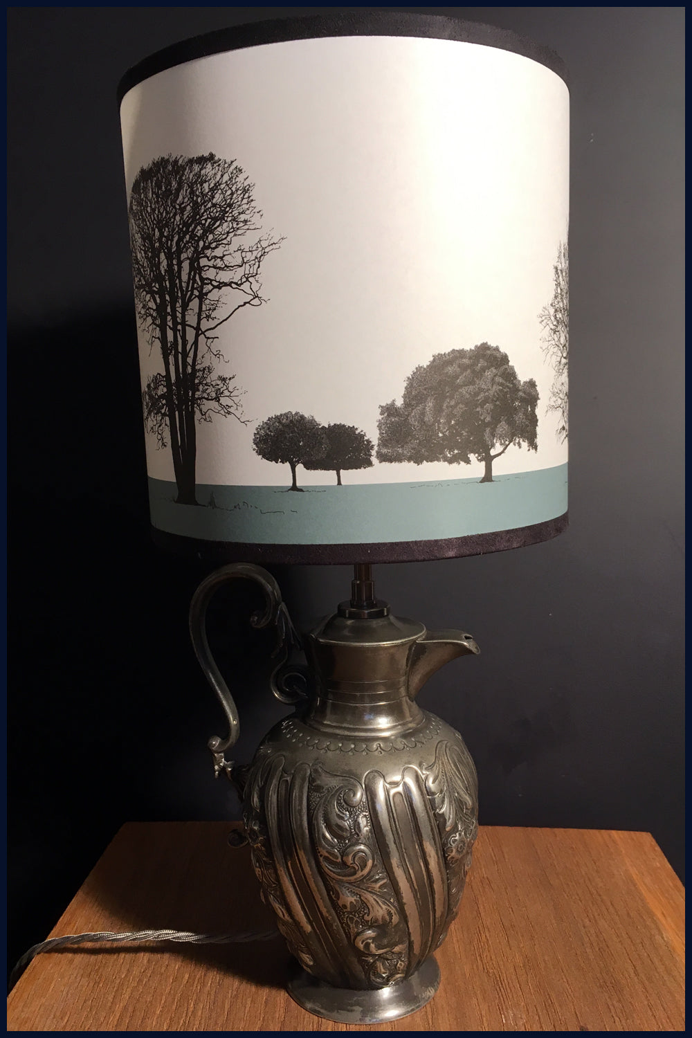 Arboretum Lampshade Collection - Featuring Norfolk Trees: available in 9 earth colours