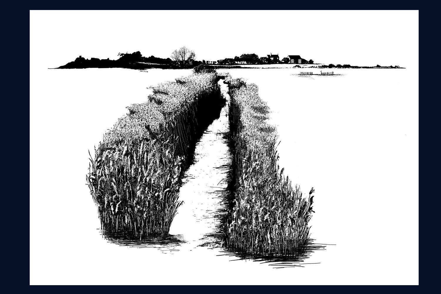 Land Song Limited Edition Print: Burnham Norton, Norfolk