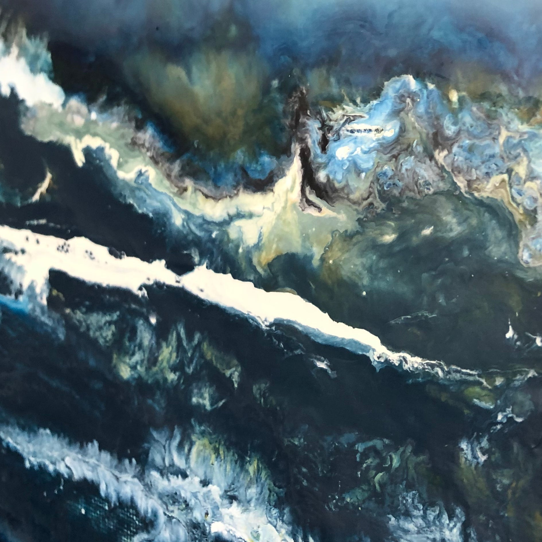 Storm Collection: Swell 7 Original Painting