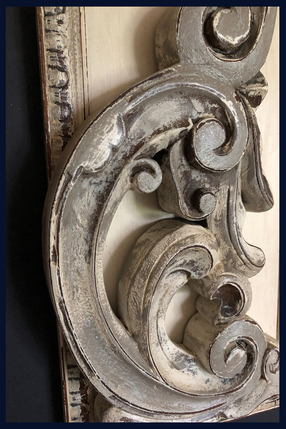 Wonderland Collection: Framed Antique Architectural Detail/Wood Carving