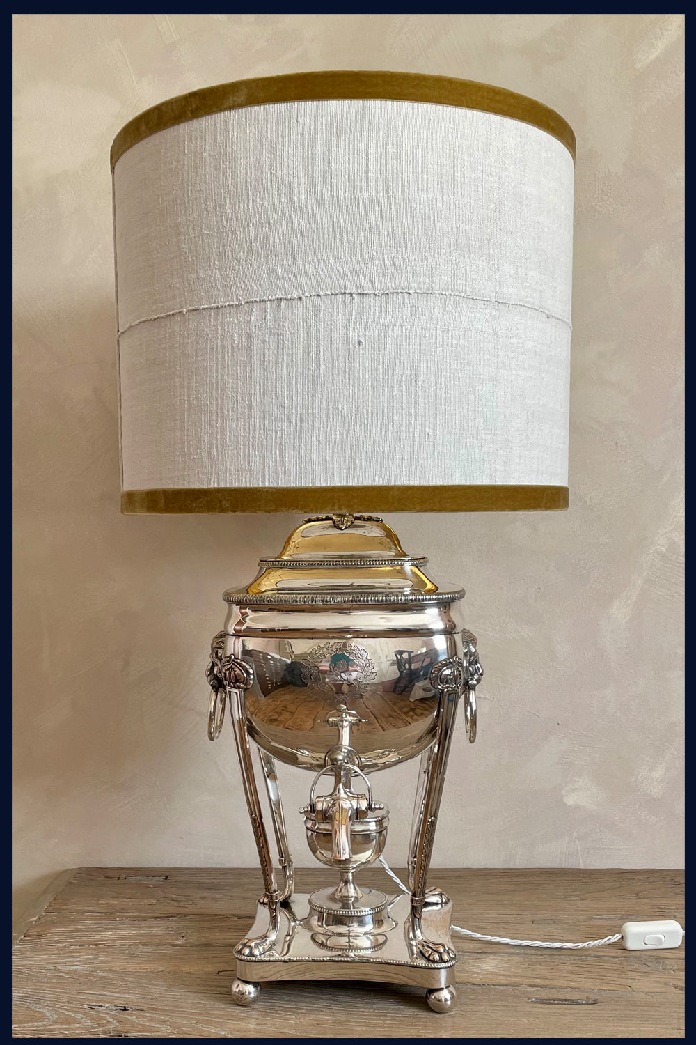 Hydrangea Bouquet - Limited Edition Lampshades Featuring White Hydrangea Blooms