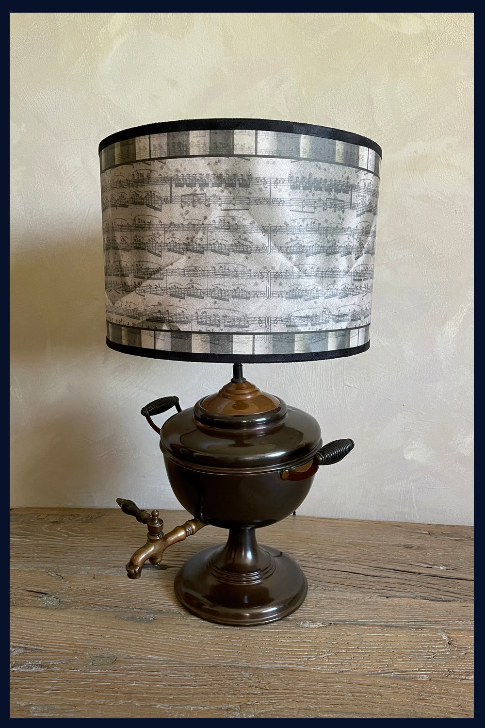 Fanfare - Limited Edition Lampshades Featuring Antique Music Scores & Old Piano Keys