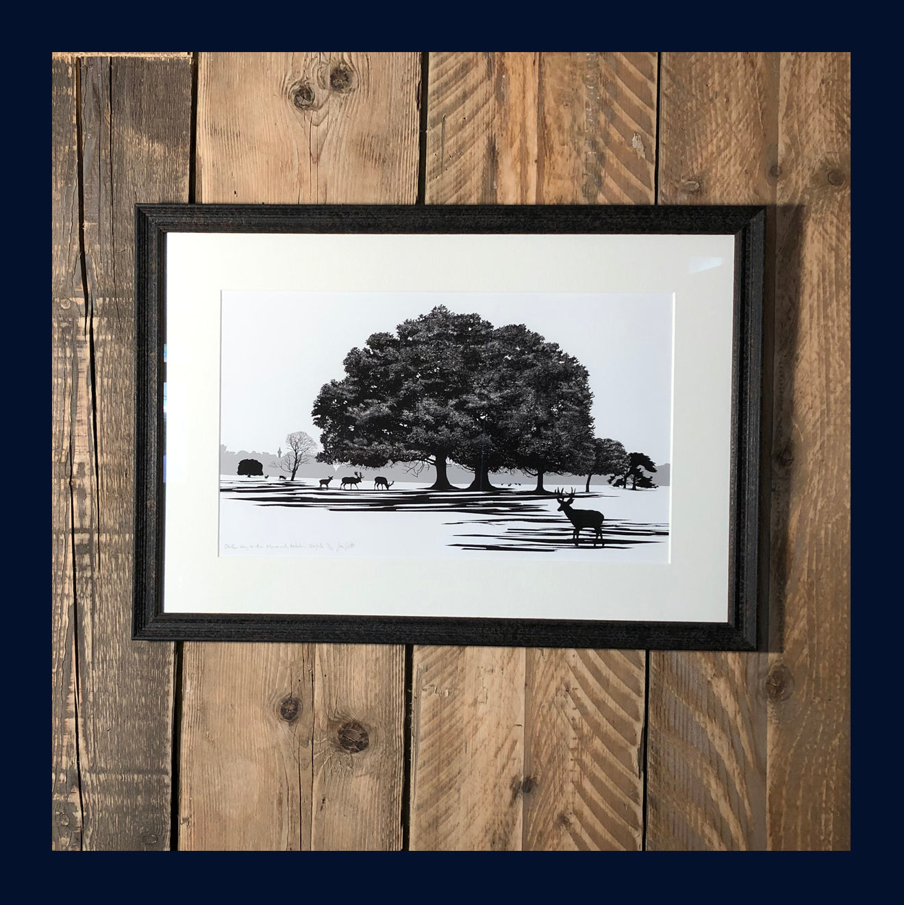 FRAMED On the Way to the Monument, Holkham, Norfolk. Limited Edition Fine Art Print