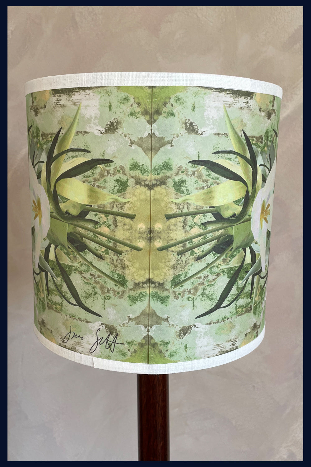Summer - Limited Edition Lampshades Featuring Orchids & Humming Birds