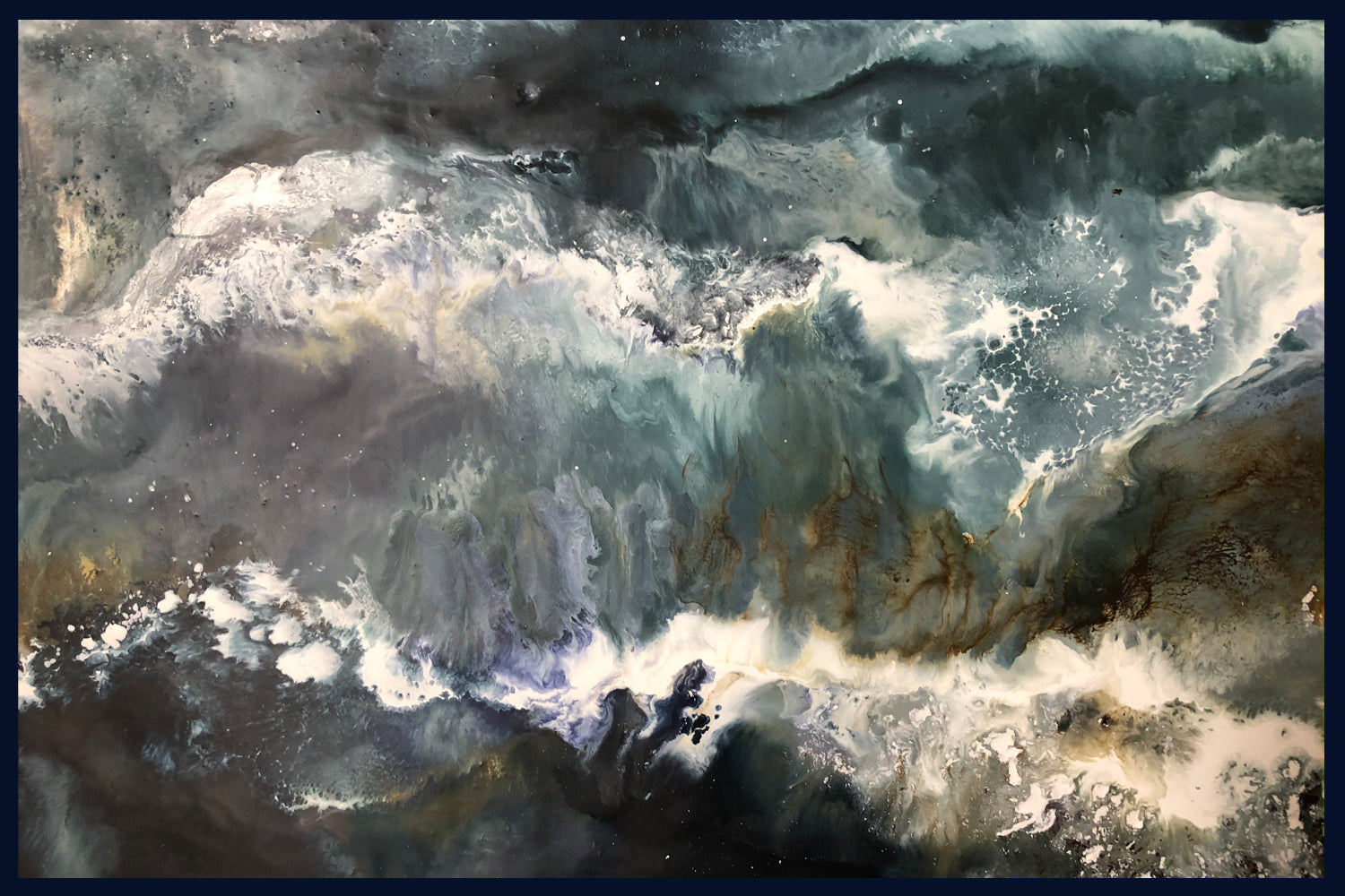Storm Collection: The Seventh, Norfolk. Original Painting