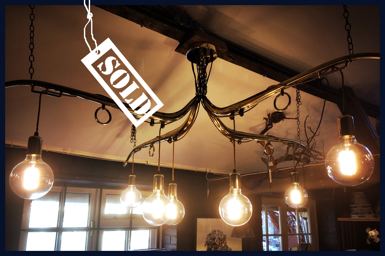 Raw 55 antique brass horse hames giant chandelier utopia the raw 55 antique brass horse hames giant chandelier aloadofball Image collections