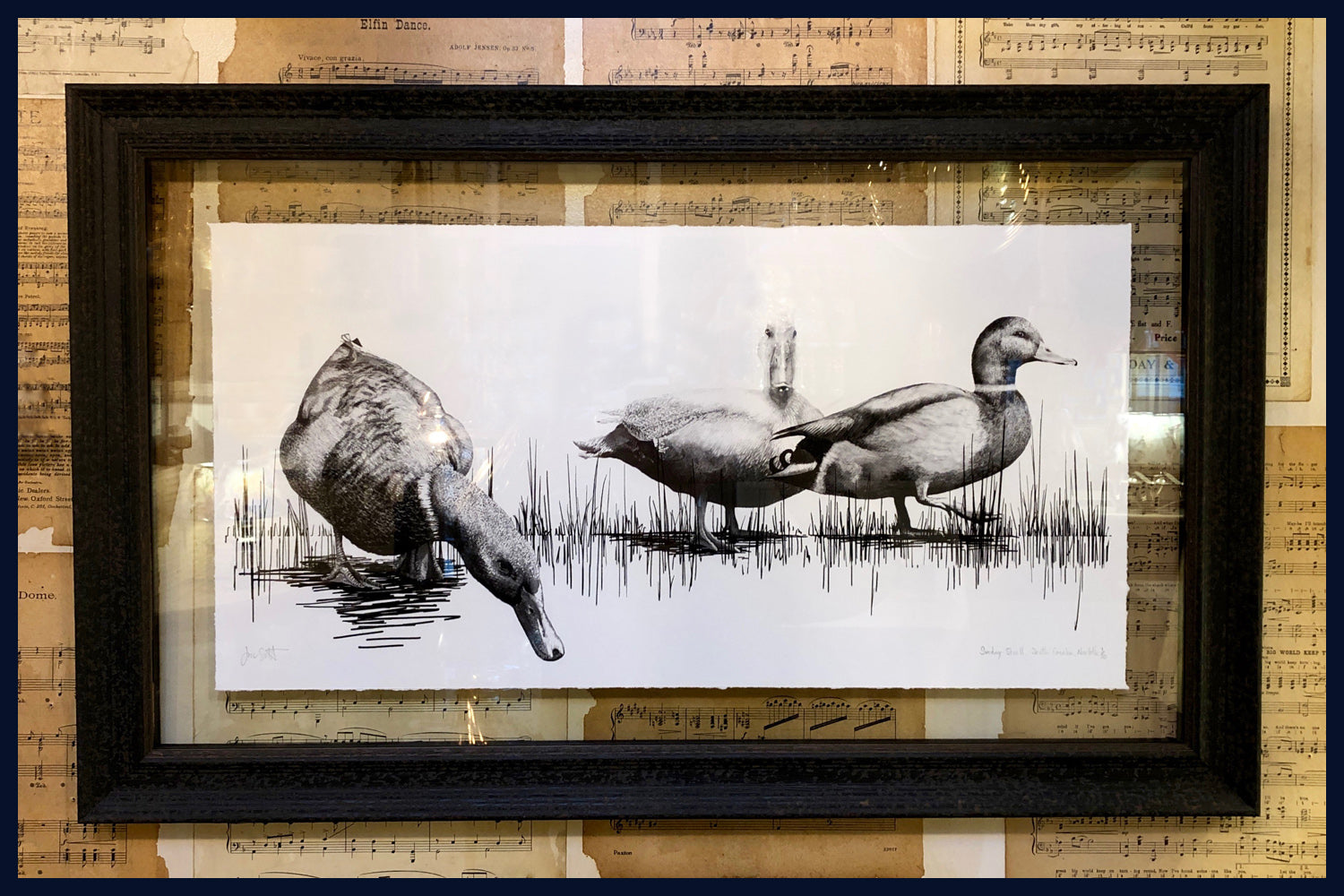 Floated & Framed: Sunday Stroll, South Creake, Norfolk no.14 Limited Edition of 50 Fine Art Print