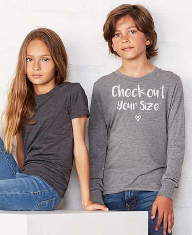 Bella Canvas 3501Y Youth Sweatshirt Features Benefits and Size Charts