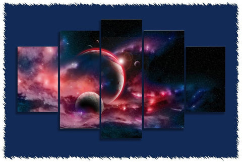 Planets & Moons Prints on Canvas