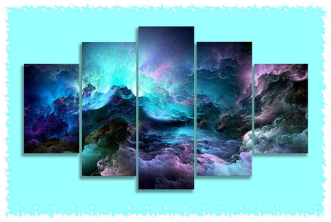Liquid Space Prints on Canvas
