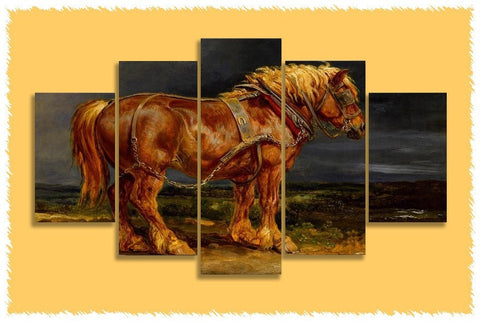 Clydesdale Gentle & Strong Prints on Canvas