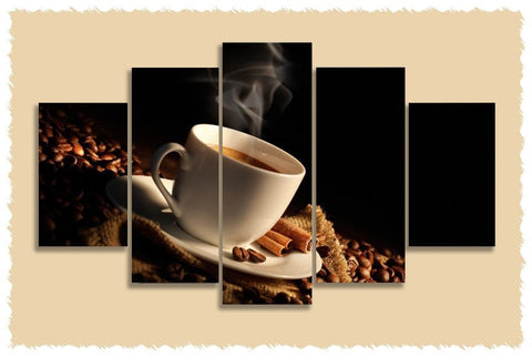Cinnamon N Coffee Prints on Canvas