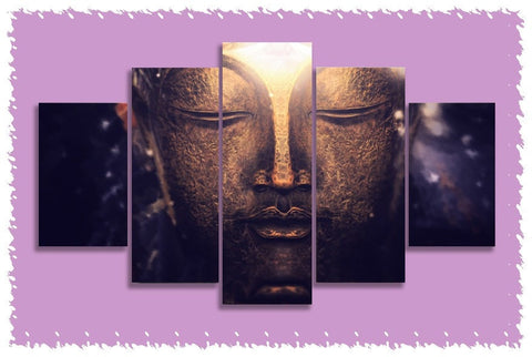Buddhas Golden Thoughts Prints on Canvas