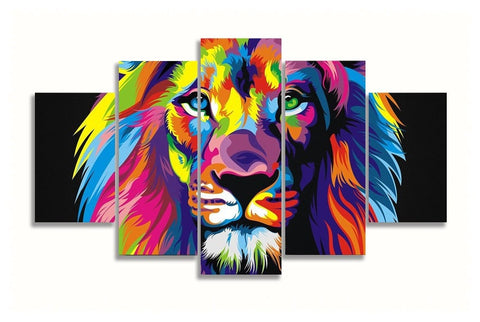 Highlights Gone Wild Prints on Canvas