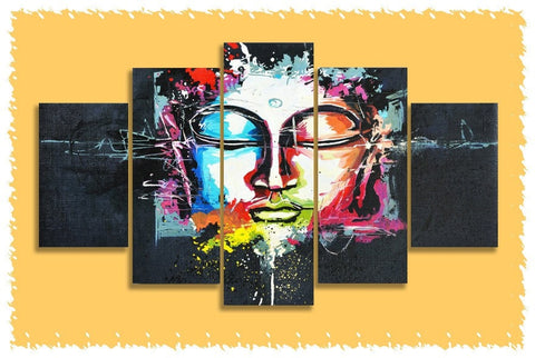 Abstract Buddha