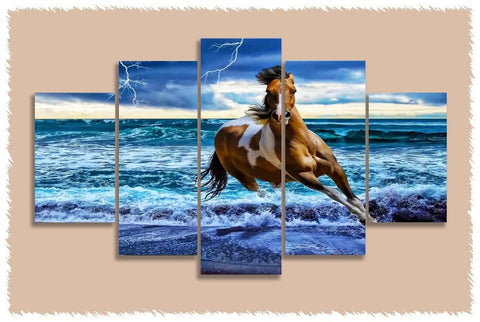 American Paint Horse Prints on Canvas