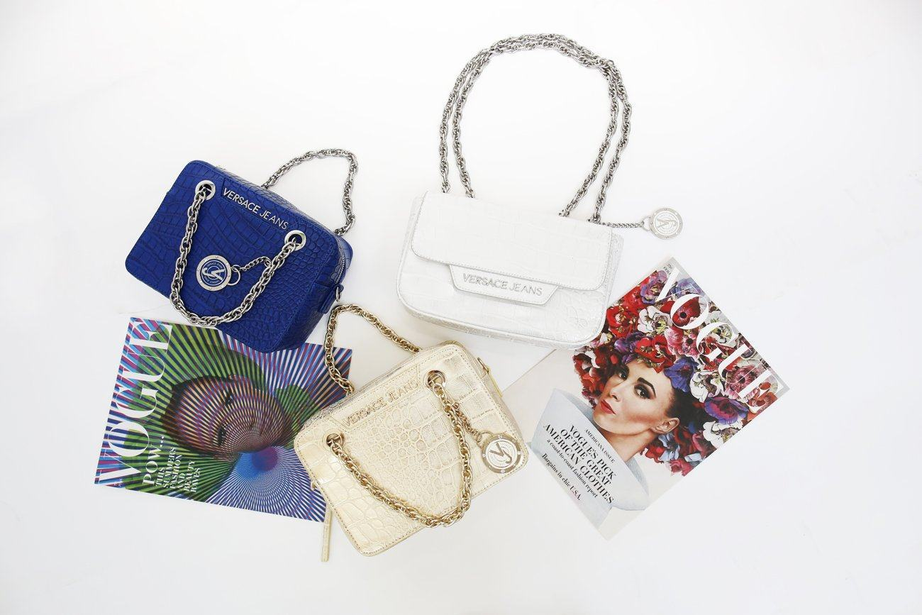 Versace Jeans: Scoop up a Youthful Free-Spiritedness with Bold Accessories | Trendy Labels