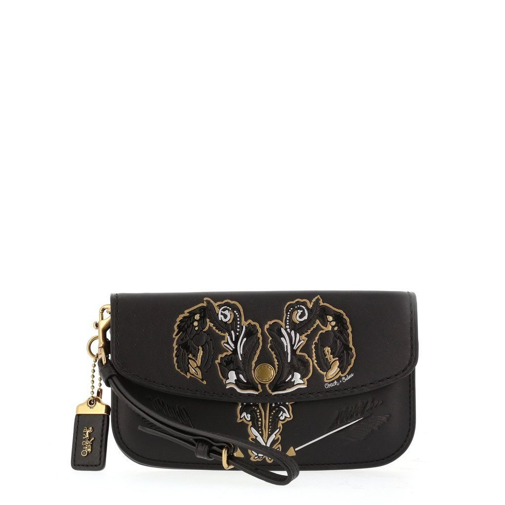 Coach - clutch bag - Black - Trendy Labels